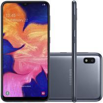 "Smartphone Samsung Galaxy A10 Preto 32GB, Tela de 6.2"", 13MP -"