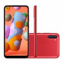 "Smartphone Samsung Galaxy A11 64GB 4G  6,4"" -  Vermelho -"