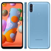 Smartphone Samsung Galaxy A11 64GB, Câmera Tripla,Tela Infinita de 6.4, Leitor de Digital, Octa Core, 3GB RAM -