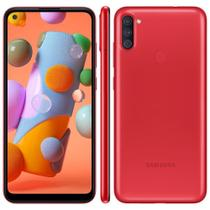 Smartphone Samsung Galaxy A11 SM-A115M 64GB - Vermelho -