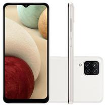Smartphone Samsung Galaxy A12 64GB 6.5 Octa Core Branco -