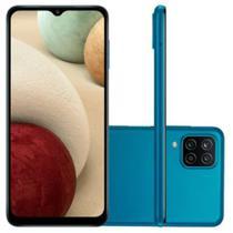"Smartphone Samsung Galaxy A12 Android Tela Infinita 6,5"" 64GB Câmera 48 MP Azul -"