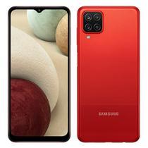 """Smartphone Samsung Galaxy A12 Vermelho, Tela 6.5"""", 4G+Wi-Fi, And. 10, Câm. Tras. de 48+5+2+2MP, Frontal de 8MP, 4GB RAM, 64GB -"""