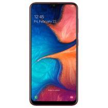 "Smartphone Samsung Galaxy A20 32GB Dual Chip Android 9.0 Tela 6.4"" Octa-Core 4G Câmera Dupla 13MP + 5MP -"
