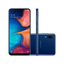 "Smartphone Samsung Galaxy A20 6,4"" 32GB Dual 13MP - Azul"