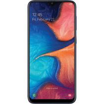 "Smartphone Samsung Galaxy A20 A205 32GB Dual Chip Tela 6.4"" 4G Wi-Fi Câmera Dual 13MP+5MP Azul -"
