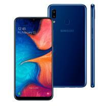 """Smartphone Samsung Galaxy A20, Azul , A205G, 6,4"""", 32GB, 13MP+5MP -"""