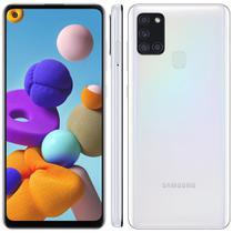 "Smartphone Samsung Galaxy A21s 6.5"" 64GB Câmera Quádrupla 48MP + 8MP + 2MP +2MP -"