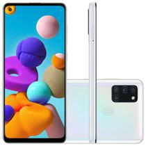 Smartphone Samsung Galaxy A21s 64GB 4GB RAM Android 10 Branco