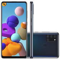 Smartphone Samsung Galaxy A21s 64GB Tela 6.5 Polegadas 4GB RAM Câmera Traseira Quádrupla Processador Octa-Core Android 10 - Samsumg
