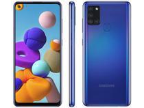 Smartphone samsung galaxy a21s sm-a217m 64gb azul -