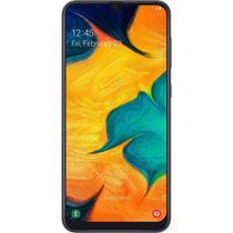 Smartphone Samsung Galaxy A30 A305G 64GB 4GB RAM 16MP Tela 6.4 Preto -