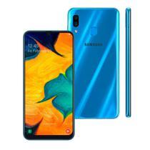 """Smartphone Samsung Galaxy A30, Azul , A305GT, 6,4"""", 64GB, 16MP+5MP -"""