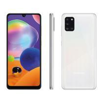 "Smartphone Samsung Galaxy A31 128GB 4GB RAM Câmera Quádrupla 48MP Tela 6.4"" - Branco -"