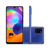 """Smartphone Samsung Galaxy A31 128GB 4GB RAM Tela 6,4"""" Câmera Quádrupla Traseira 48MP + 5MP + 8MP + 5MP Frontal de 20MP Bateria 5000mAh Azul -"""