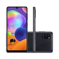 """Smartphone Samsung Galaxy A31 128GB 4GB RAM Tela 6,4"""" Câmera Quádrupla Traseira 48MP + 5MP + 8MP + 5MP Frontal de 20MP Bateria 5000mAh Preto -"""