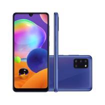 """Smartphone Samsung Galaxy A31 128GB - Azul, 4G, Câmera Quadrupla 48MP + Selfie 20MP, RAM 4GB, Tela 6.4"""" -"""