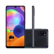 """Smartphone Samsung Galaxy A31 128GB - Preto, 4G, Câmera Quadrupla 48MP + Selfie 20MP, RAM 4GB, Tela 6.4"""" -"""