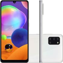 "Smartphone Samsung Galaxy A31 128GB Tela 6.4"" 4GB RAM Octa Core Câmera Quádrupla Traseira 48MP + 8MP + 5MP + 5MP Android - Branco -"
