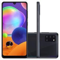 "Smartphone Samsung Galaxy A31 128GB Tela 6.4"" 4GB RAM Octa Core Câmera Quádrupla Traseira 48MP + 8MP + 5MP + 5MP Android - Preto -"