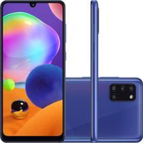 """Smartphone Samsung Galaxy A31 Dual Chip 128GB, 4GB RAM, Tela 6.4"""", Câmera Traseira Quádrupla - Azul -"""