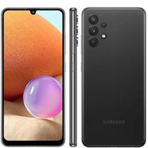 """Smartphone Samsung Galaxy A32 128GB 4G - Preto, Câmera Quadrupla 64MP + Selfie 20MP, RAM 4GB, Tela 6.4"""" -"""