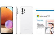 Smartphone Samsung Galaxy A32 128GB Branco 4G - 4GB RAM + Microsoft 365 Personal 1TB OneDrive