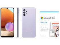 Smartphone Samsung Galaxy A32 128GB Violeta 4G - 4GB RAM + Microsoft 365 Personal 1TB OneDrive