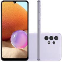 Smartphone Samsung Galaxy A32 4G 128GB 4GB RAM Tela de 6.4'' Violeta -