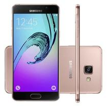 Smartphone Samsung Galaxy A5 2016 SM-A510M/DS Rose  Dual Chip Android 5.1 Lollipop 4G Câmera 13MP