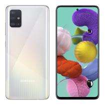 "Smartphone Samsung Galaxy A51 128 GB Dual Chip Android Tela 6.5"" Octa-Core 4 GB Câmera Quádrupla 48MP + 12MP + 5MP + 5MP - Branco -"