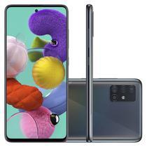 "Smartphone Samsung Galaxy A51 128GB 6.5"" 4GB RAM Câmera Traseira Quádrupla 48MP 12MP 5MP 5MP Preto -"