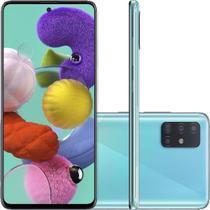 "Smartphone Samsung Galaxy A51 128GB Tela 6,5"" Câmera Quádrupla 48MP 12MP 5MP 5MP Frontal 32MP Azul -"