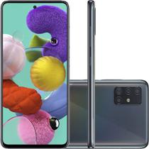 "Smartphone Samsung Galaxy A51 128GB Tela 6,5"" Câmera Quádrupla 48MP 12MP 5MP 5MP Frontal 32MP Preto -"