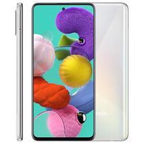 "Smartphone Samsung Galaxy A51, 6,5"", 128GB, Octa-Core, Câmera Quádrupla, Branco -"