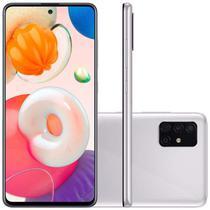 """Smartphone Samsung Galaxy A51 Tela 6,5"""" Octa-Core 2.3 128GB Barato 48MP+12MP+5Mp Cinza Menor Preço -"""
