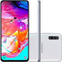 "Smartphone Samsung Galaxy A70 128GB Dual Chip Tela 6.7""  4G Câmera Tripla 32MP + 5MP + 8MP - Branco -"