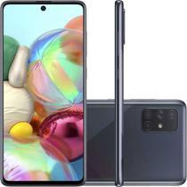 "Smartphone Samsung Galaxy A71, Tela Infinita de 6.7"" 128GB 6GB RAM Preto -"