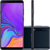 Smartphone Samsung Galaxy A9 128GB Preto 4G Tela 6.3 Câmera 24MP Dual Chip Android 8.0 -