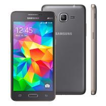 """Smartphone Samsung Galaxy Gran Prime Duos, 5"""", 8MP, 3G - Cinza -"""