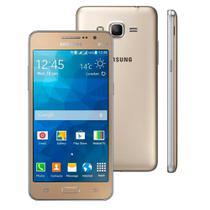 """Smartphone Samsung Galaxy Gran Prime Duos, 5"""", 8MP, Android 4.4 - Dourado -"""