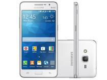 Smartphone Samsung Galaxy Gran Prime Duos - Dual Chip 3G Android 4.4 Câm. 8MP Desbl. Oi
