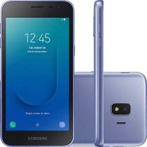Smartphone Samsung Galaxy J2 Core 16GB Dual Chip Tela 5 Câmera 8MP 5MP Android Go 8.1 Prata -