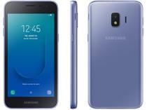 "Smartphone Samsung Galaxy J2 Core 16GB Prata - 4G 1GB RAM Tela 5"" Câm. 8MP + Câm. Selfie 5MP"