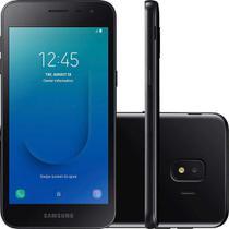 "Smartphone Samsung Galaxy J2 Core 16GB Preto - 4G 1GB RAM Tela 5"" Câm. 8MP + Câm. Selfie 5MP -"