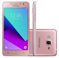 "Smartphone Samsung Galaxy J2 Prime TV - Tela 5"" HD, Quad Core, Câmera 8MP e Flash Frontal, 16GB, Dual Chip 4G - Rosa - SM-G532MT -"