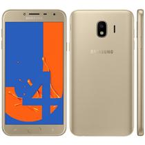 Smartphone samsung galaxy j4 32gb dual chip, camera 13mp android 8.0 , processador quad core e ram 2gb dourado