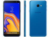 "Smartphone Samsung Galaxy J4 Core 16GB Azul 4G - 1GB RAM Tela 6"" Câm. 8MP + Câm. Selfie 5MP"