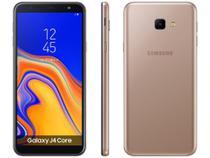 "Smartphone Samsung Galaxy J4 Core 16GB Cobre 4G - Quad Core 1GB RAM Tela 6"" Câm. 8MP + Selfie 5MP -"