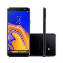Smartphone Samsung Galaxy J4 Core 16GB Dual Chip Tela 6 Câmera 8MP 5MP Android Go 8.1 Preto -